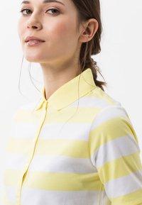 BRAX - STYLE CLEO - Polo shirt - yellow - 3