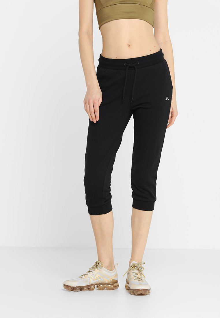 ONLY Play - ONPELINA 3/4 PANTS - Tracksuit bottoms - black