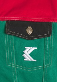 Karl Kani - BLOCK TRUCKER - Denim jacket - red - 2