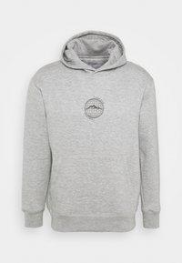 Daily Basis Studios - WORLDWIDE HOOD UNISEX - Sweatshirt - grey marl - 0