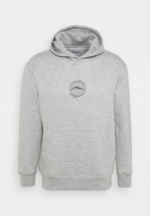 WORLDWIDE HOOD UNISEX - Sweatshirt - grey marl