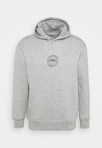 WORLDWIDE HOOD UNISEX - Sweatshirt - grey marl