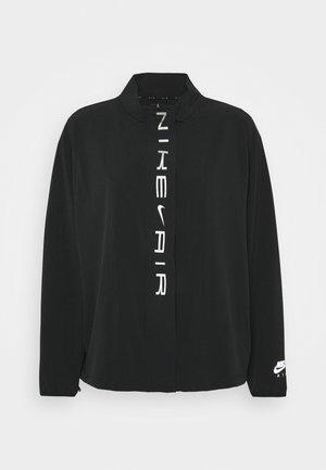 AIR PLUS - Juoksutakki - black/white/silver