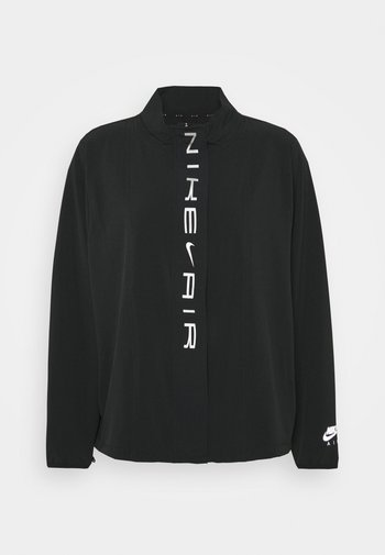 AIR PLUS - Sports jacket - black/white/silver