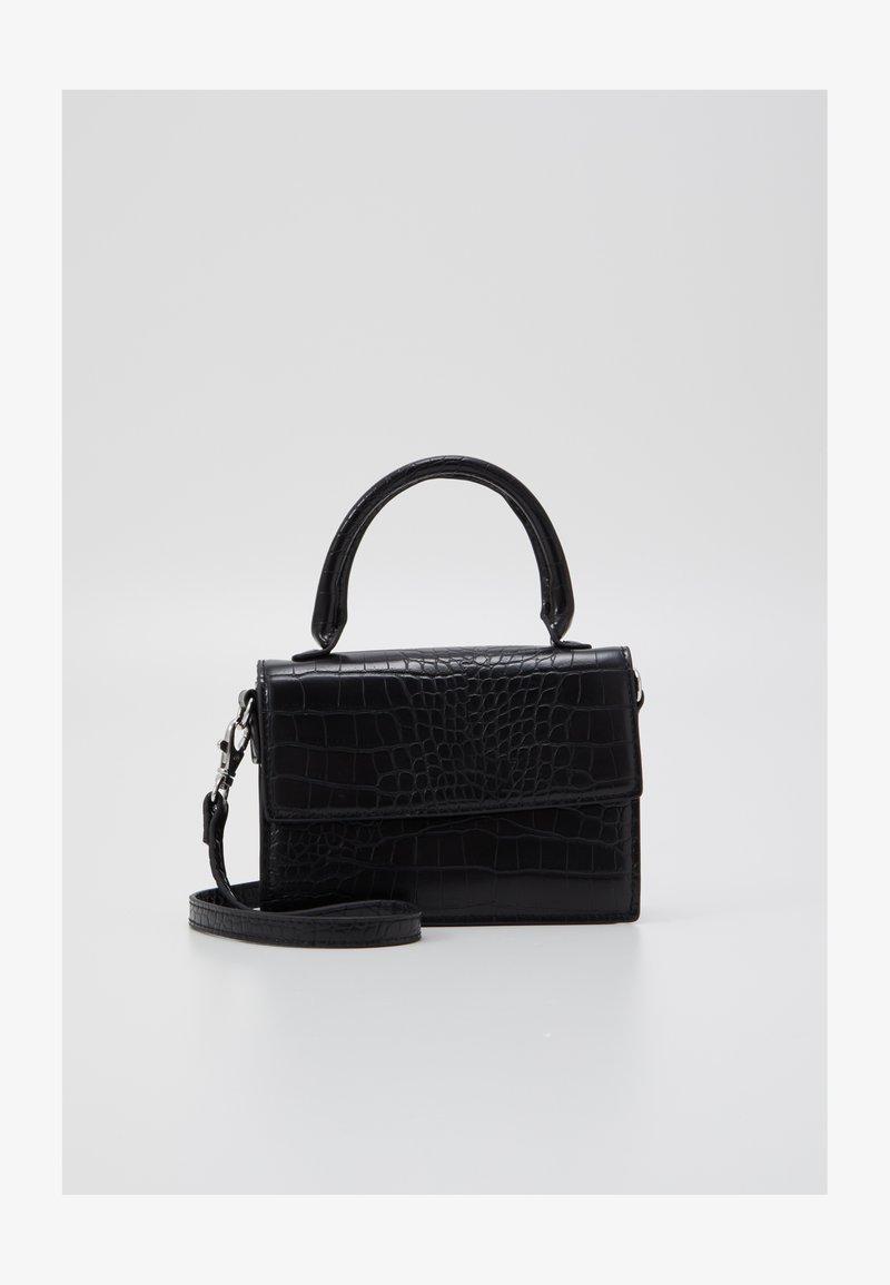 Monki - SHIRIN MINI BAG - Taška spříčným popruhem - black