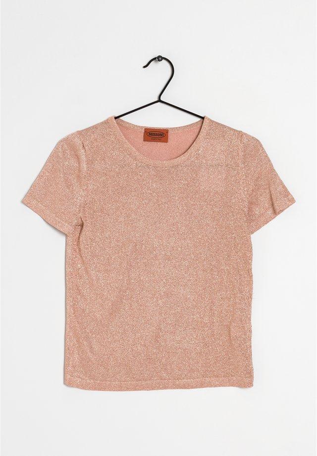 Basic T-shirt - gold