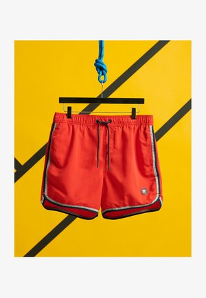 Swimming shorts - flag red