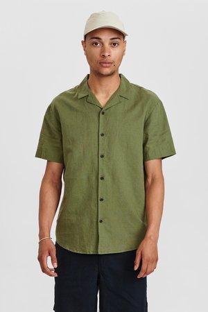 AKLEO SHIRT - Košile - olivine