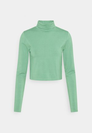 EVERYDAY CHOP MOCK NECK LONG SLEEVE - Long sleeved top - chinois green