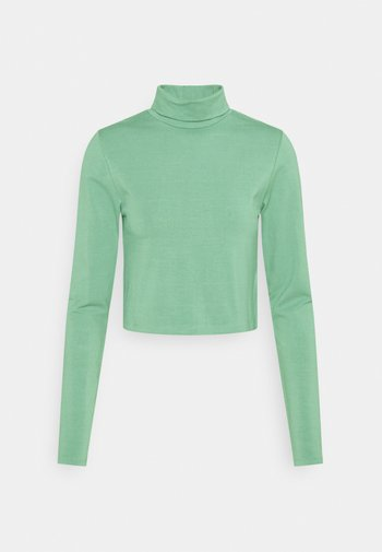 EVERYDAY CHOP MOCK NECK LONG SLEEVE - Topper langermet - chinois green