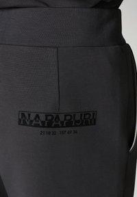 Napapijri - OAHU - Tracksuit bottoms - dark grey solid - 7