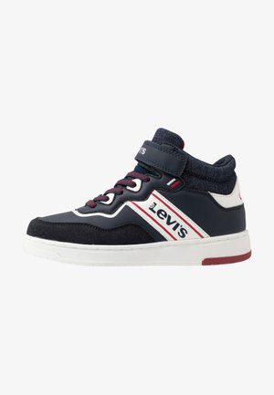 IRVING MID  - Sneakers alte - navy/red