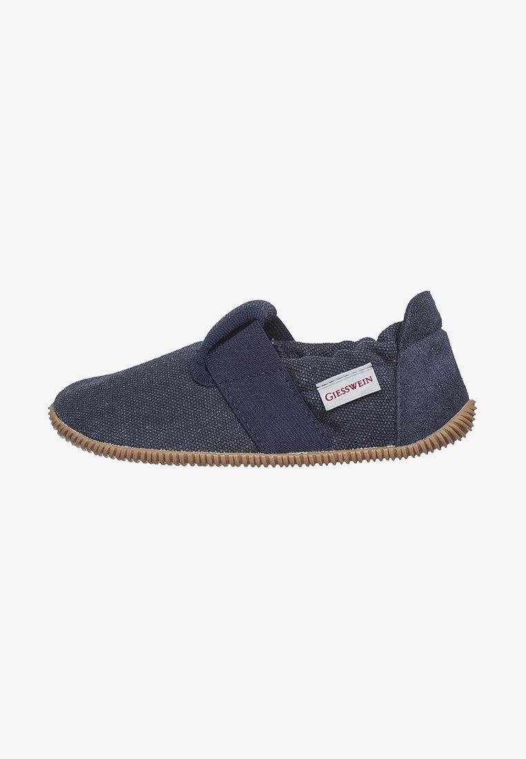 Giesswein - SÖLL SLIM FIT - Slippers - dark blue