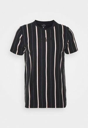 CREW - T-shirt con stampa - black