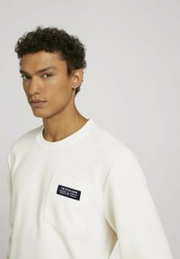 TOM TAILOR DENIM - Sweatshirt - soft light beige - 3
