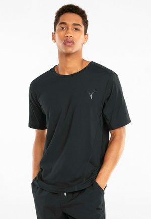 TRAIN CLOUDSPUN TEE - T-shirt print - puma black