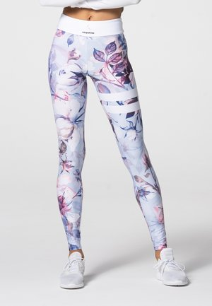 TROPICAL TIGHTS - Leggings - pink