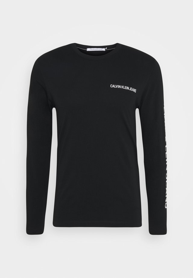 ESSENTIAL INSTIT - T-shirt à manches longues - black