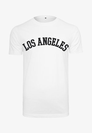 LOS ANGELES - T-shirt con stampa - white