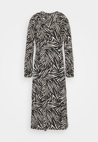 Wallis Tall - ZEBRA FINDLE MIDI DRESS - Maxi dress - black - 0
