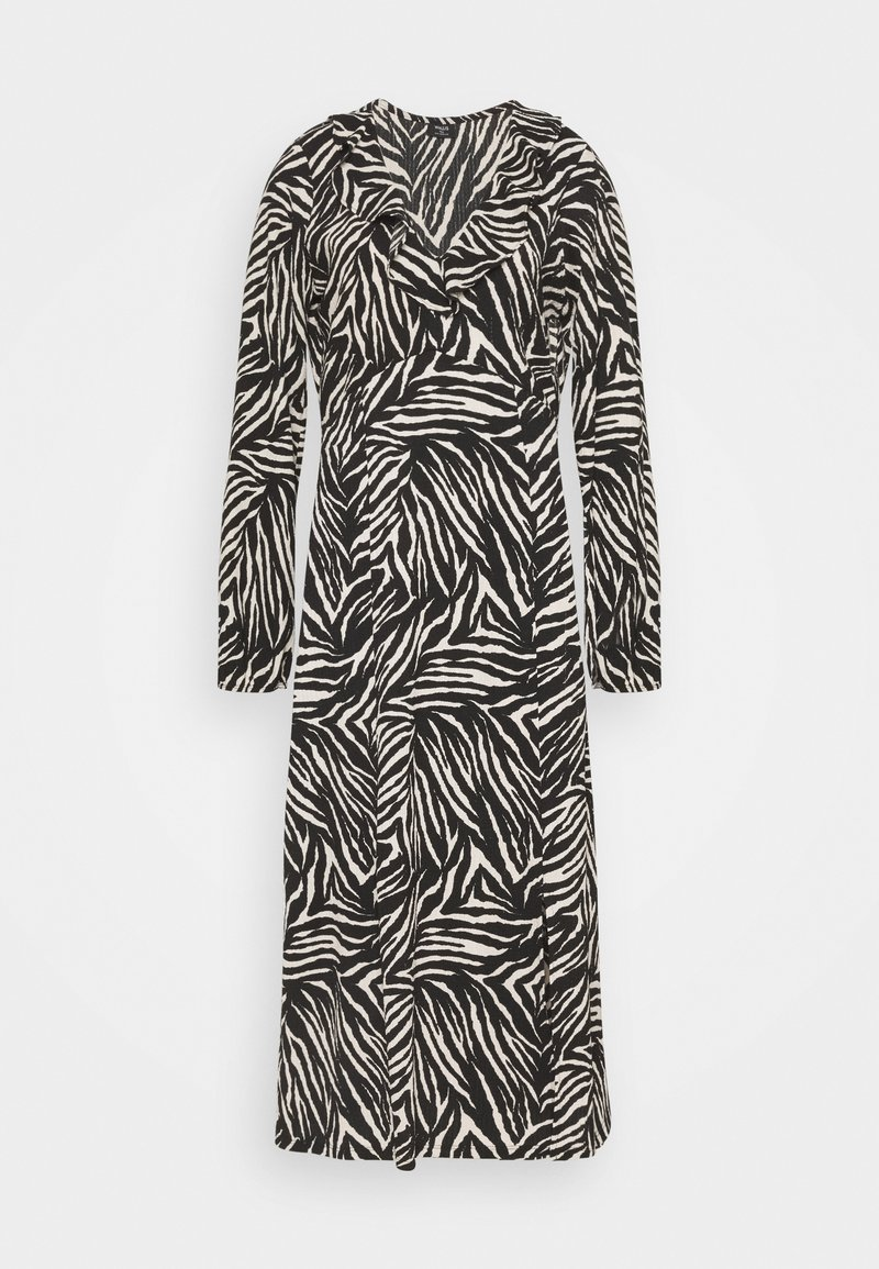 Wallis Tall - ZEBRA FINDLE MIDI DRESS - Maxi dress - black