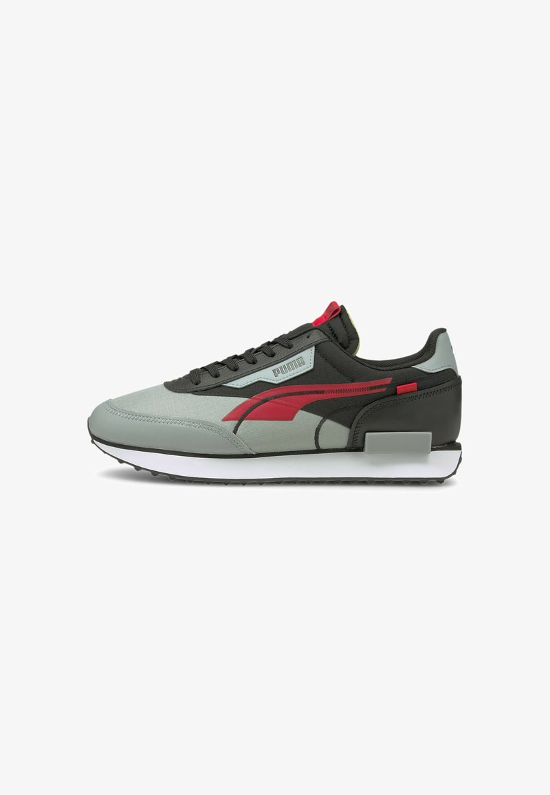 Puma - Sneakers - black-high risk red