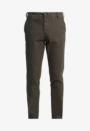 SHHONE LUCA PHANTOM PANTS - Chinos - phantom