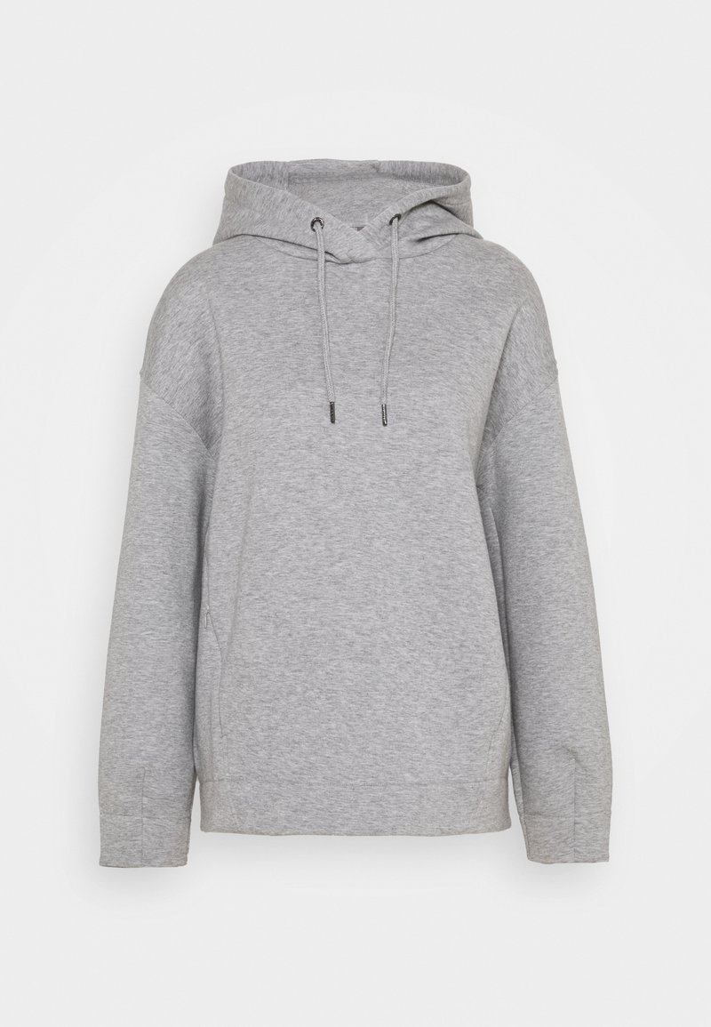 Sweaty Betty - TIME OUT HOODY - Sweatshirt - cloud grey marl