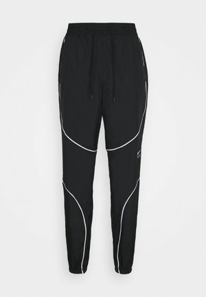 FLY PANT - Tracksuit bottoms - black/white