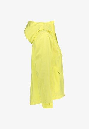 JWP SHELL - Waterproof jacket - gelb