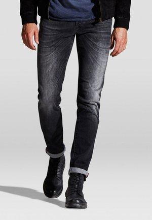 JJIGLENN JJFOX  - Slim fit jeans - black