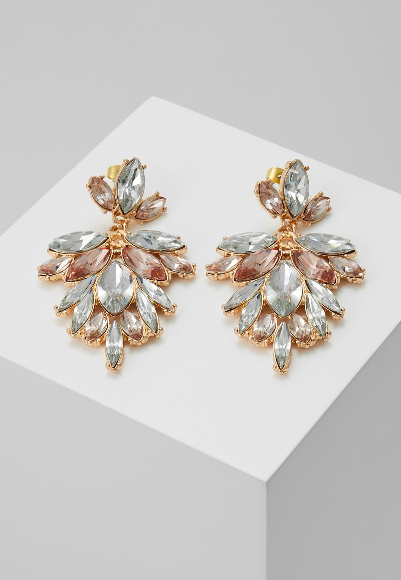 ONLY - ONLDROPSY EARRINGS - Earrings - gold-coloured/rose