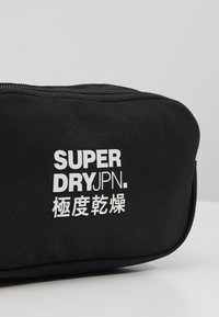 Superdry - SMALL BUMBAG - Ledvinka - black - 2