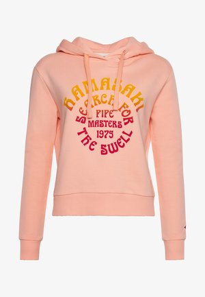 Hoodie - chalky coral