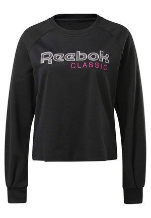 CLASSICS CREW SWEATSHIRT - Sweatshirt - black