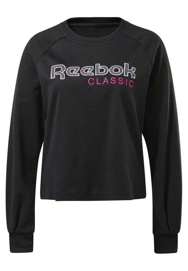 CLASSICS CREW SWEATSHIRT - Collegepaita - black