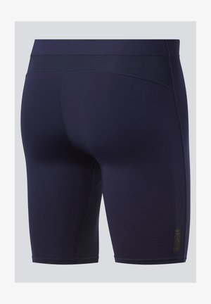 UNITED BY FITNESS COMPRESSION SHORTS - Sports shorts - blue