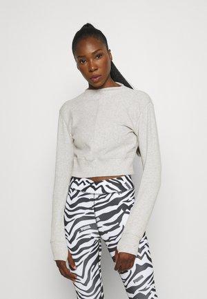 EXHALE MOCK NECK - Sweatshirt - light gray heather