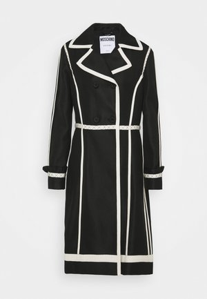 LONG JACKET - Classic coat - black
