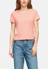 Q/S designed by - Basic T-shirt - apricot - 5