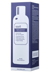 klairs - SUPPLE PREPARATION FACIAL TONER 180ML - Toner - unscented
