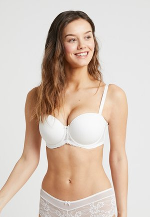BRONTE MOULDED STRAPLESS BRA - Axelbandslös bh / Multifunktionsbh - ivory
