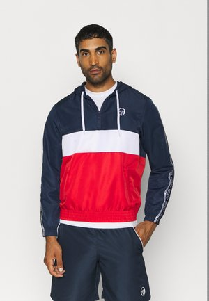 BELUSHI TRACKTOP - Training jacket - navy/red