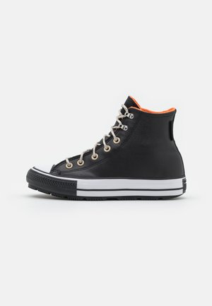 CHUCK TAYLOR ALL STAR WINTER WATERPROOF UNISEX - High-top trainers - black/white