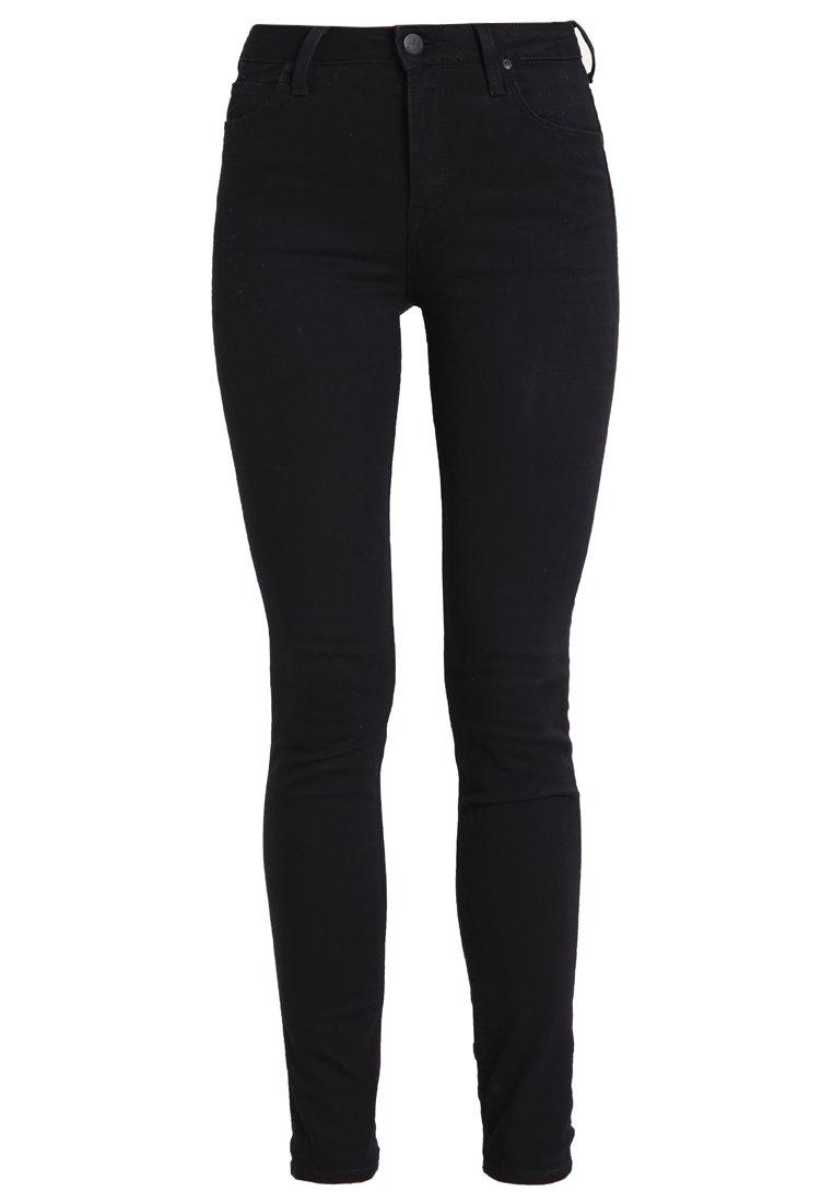 Black  Jeans Scarlett Skinny Bukse  Lee  Jeans - Dameklær er billig