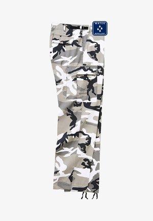 Cargo trousers - snowcamo