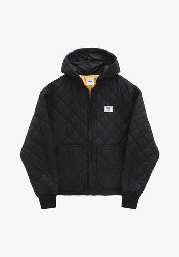 WM BOOM BOOM 66 HOOD BOMBER - Winter jacket - black