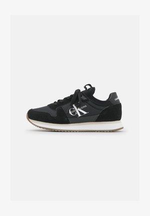 RUNNER LACEUP SOCK - Sneakersy niskie - black