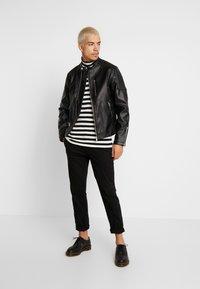 Jack & Jones - JCODERRICK  - Faux leather jacket - black - 1