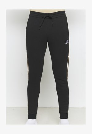 CAMO - Pantaloni sportivi - black/white